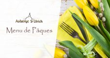 Menu de Pâques Auberge St-Ulrich